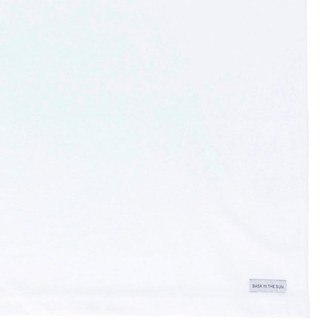 T-shirt en coton bio white longest ride - Bask in the Sun num 3