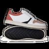 Chaussure en glencoe cuir blanc / suède flamingo - O.T.A - 1
