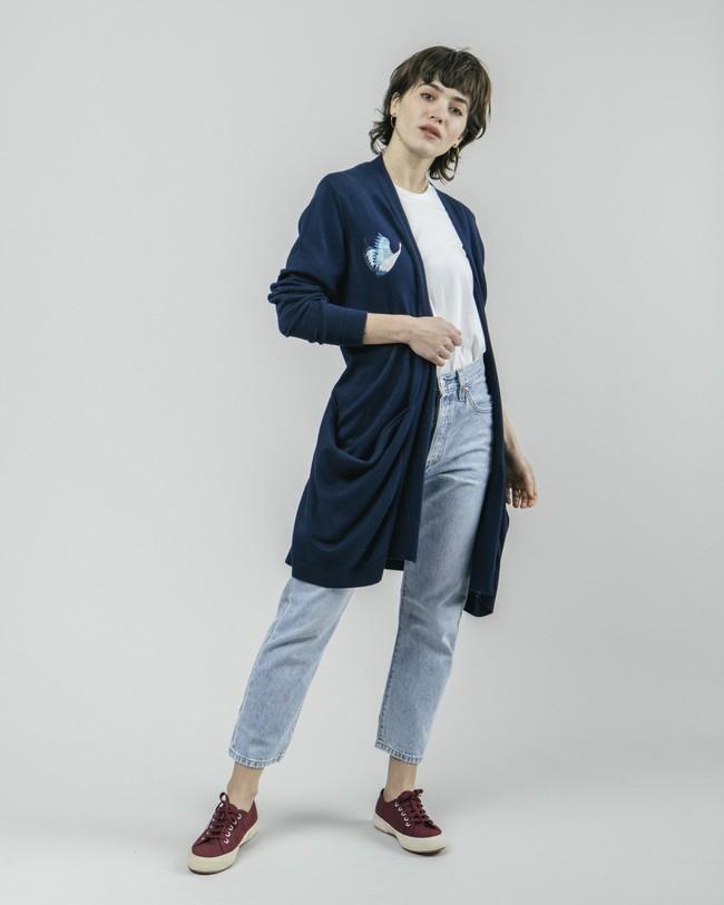 Crane for luck oversized cardigan - Brava Fabrics num 3