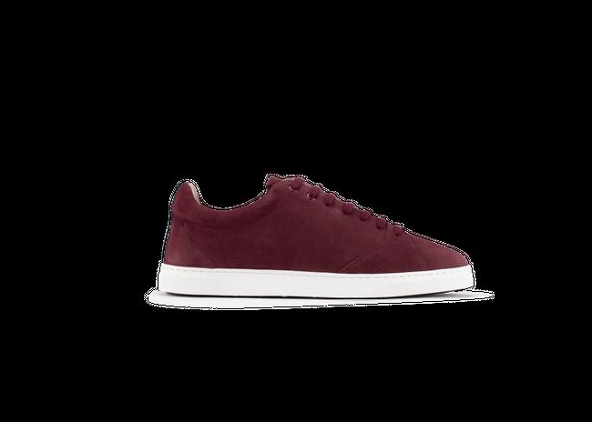 Chaussure en gravière suède bordeaux / semelle blanc - Oth num 3