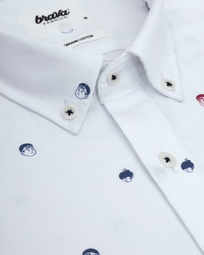 Printed shirt akito - Brava Fabrics num 2