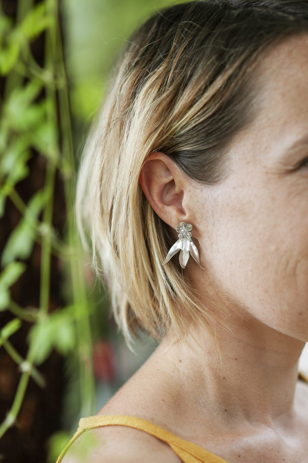 Boucles d'oreilles asclepias - Elle & Sens