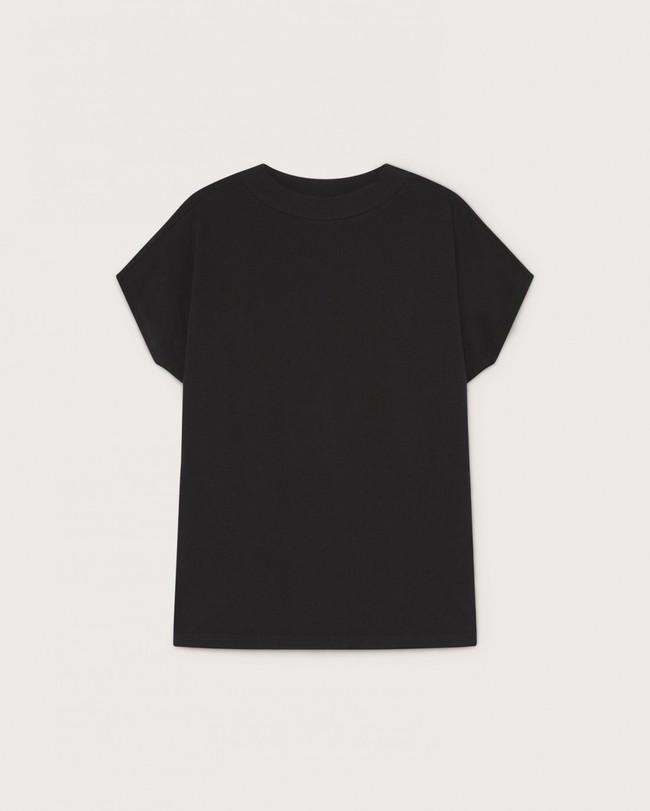 T-shirt noir en coton bio - volta - Thinking Mu num 4