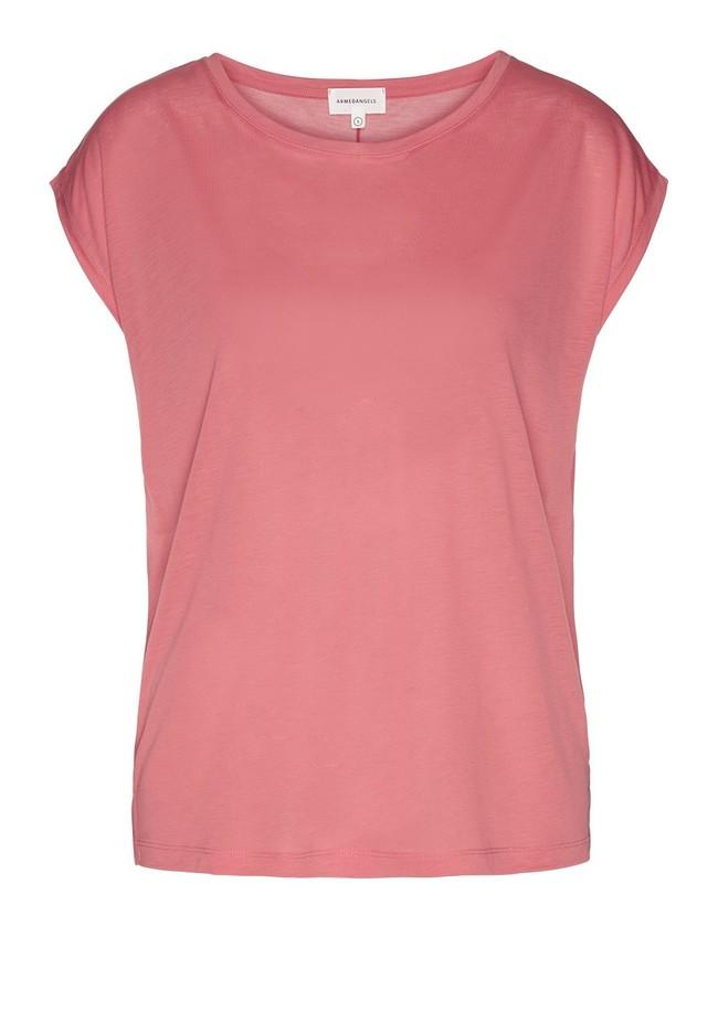 T-shirt uni rose en tencel - jilaa - Armedangels num 4