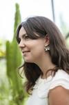 Boucles d'oreilles fleur murraya - argent recyclé - Elle & Sens - 7