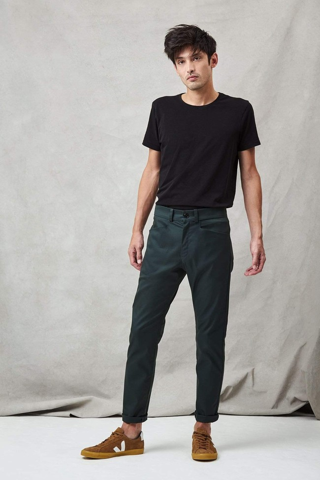 Pantalon homme vert ratp - Les Récupérables