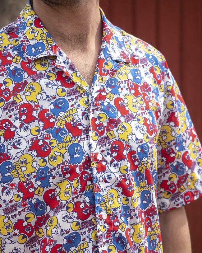 Power up pac-man™ x brava   aloha shirt - Brava Fabrics num 7