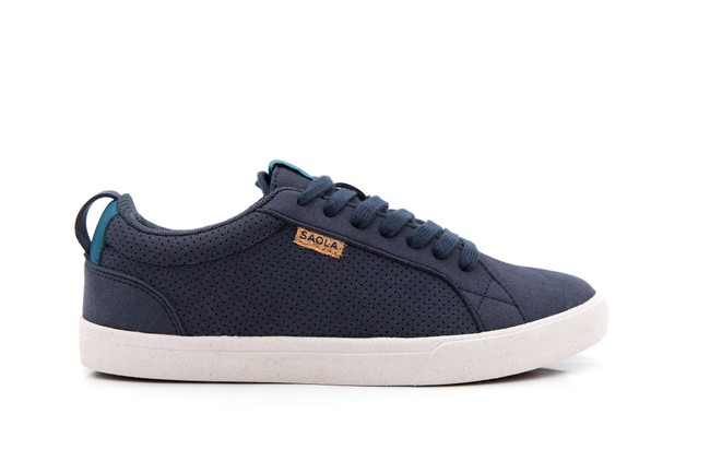 Chaussures recyclées cannon femme blue night - Saola num 2