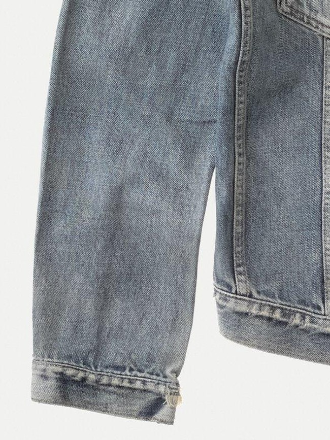 Veste en jean coton bio - billy shimmering - Nudie Jeans num 6