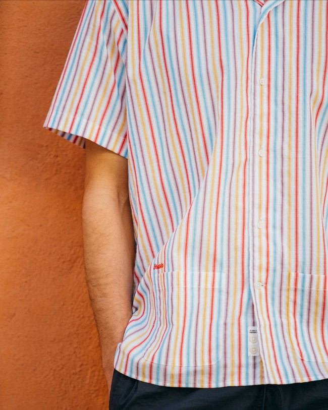 Downtown stripes aloha shirt - Brava Fabrics num 6