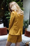 Veste tailleur boston jaune safran - 17h10 - 5