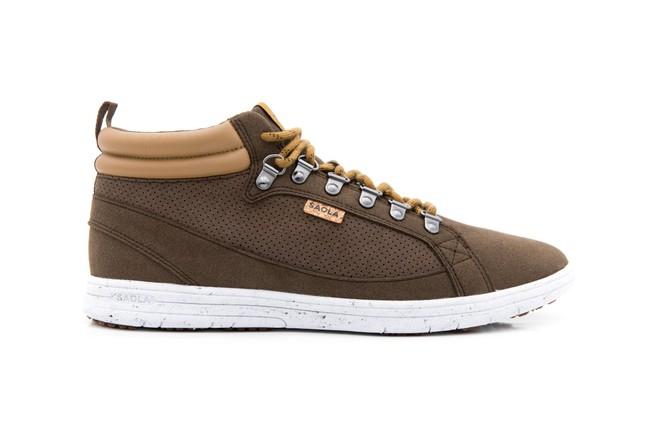 Chaussures recyclées baikal chocolate - Saola num 1