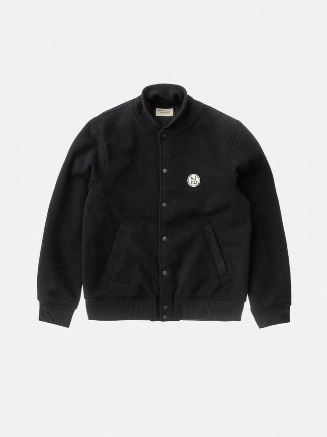 Veste en laine noire - bengan - Nudie Jeans num 6
