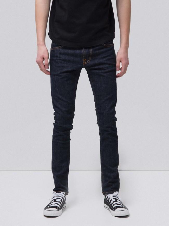 Jean skinny brut coton bio - tight terry rinse twill - Nudie Jeans