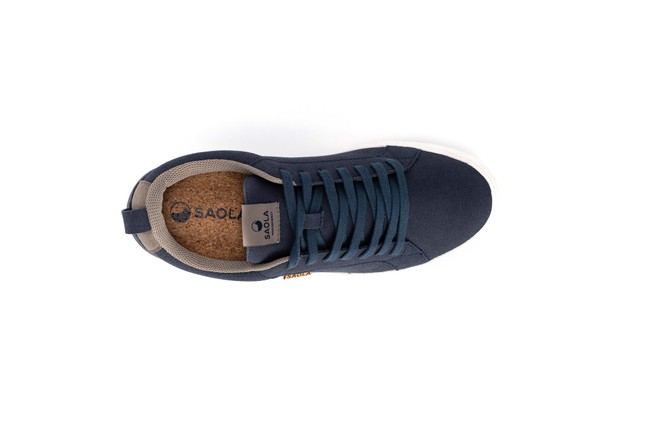 Chaussures recyclées cannon blue night homme - Saola num 3