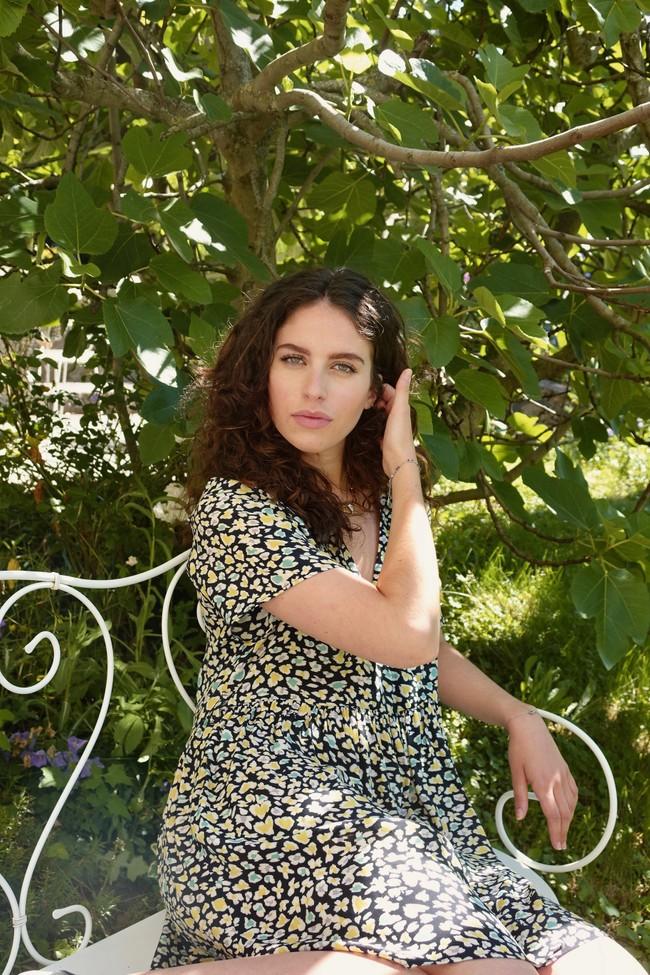 Robe faustine courte - Alfa