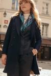 Manteau en laine navy - 17h10 - 1
