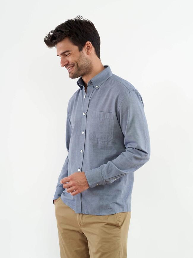 La chemise chambray | coton fair trade, tissage français - Lautrec