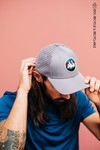 Wild cap - casquette technique recyclée [grey sunset] - Nosc - 1