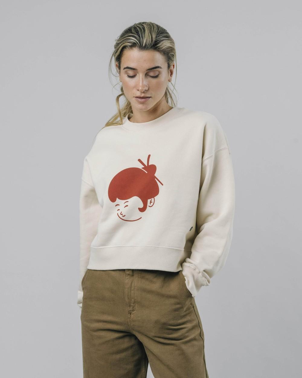 Yoko sweatshirt - Brava Fabrics