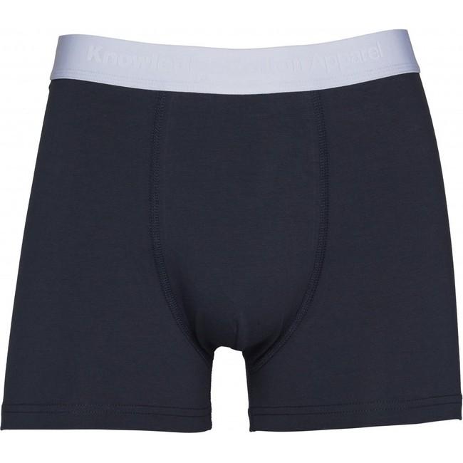 Pack t-shirt et boxer marine en coton bio - Knowledge Cotton Apparel