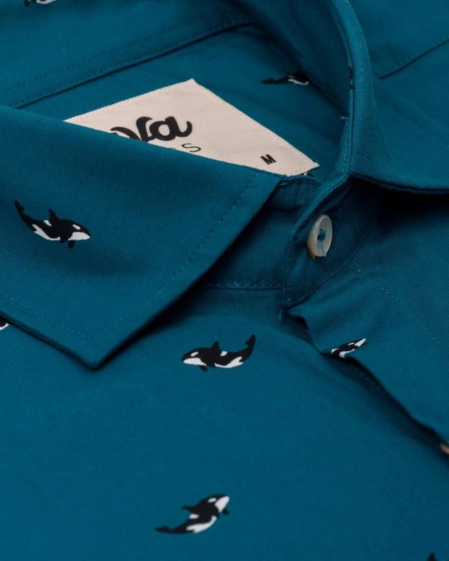 Arctic orca printed shirt - Brava Fabrics num 2