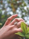 Bague fleur marguerite en argent recyclé - Elle & Sens - 4