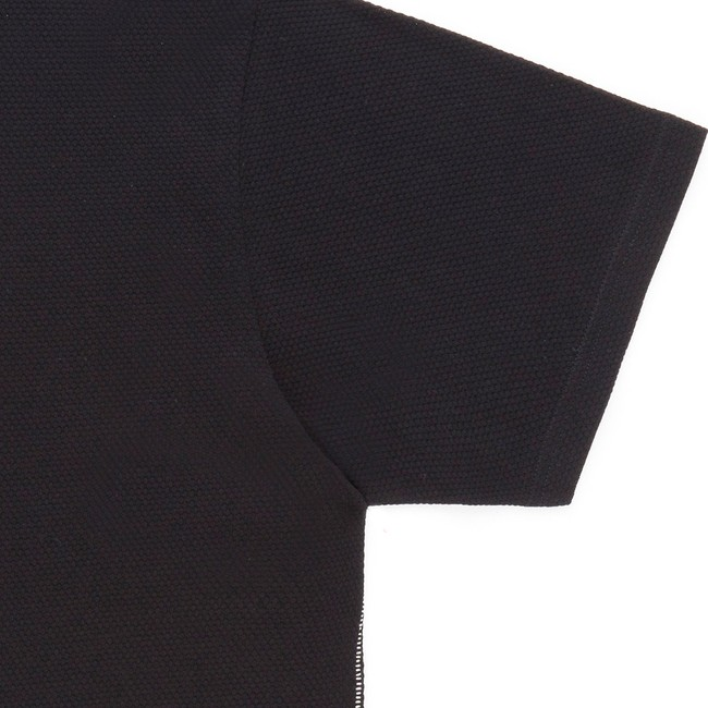 T-shirt en coton bio black gamiz - Bask in the Sun num 2