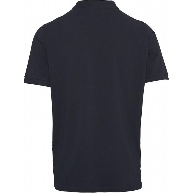 Polo bleu nuit en coton bio - Knowledge Cotton Apparel num 1
