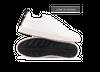 Chaussure en gravière cuir blanc / semelle off-white - Oth - 1