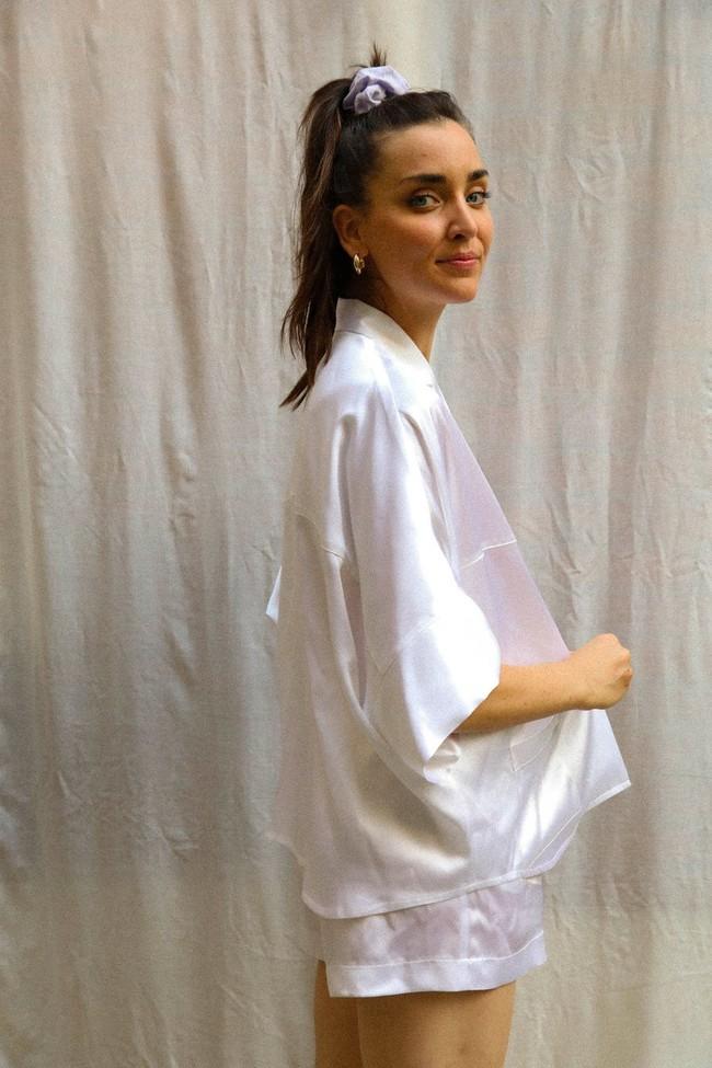 Chemise irma blanche - Nénés Paris num 2