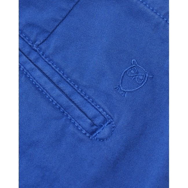 Short chino droit bleu en coton bio - chuck - Knowledge Cotton Apparel num 2