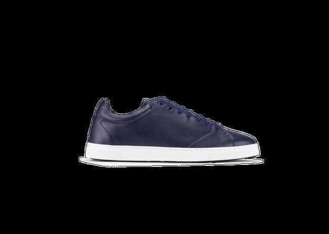 Chaussure en gravière cuir marine / semelle blanc - Oth num 3