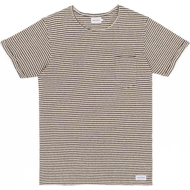 T-shirt navy esteban - Bask in the Sun