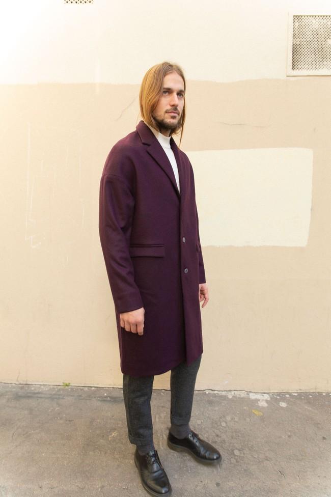 Manteau genoa laine & cachemire - Noyoco num 15