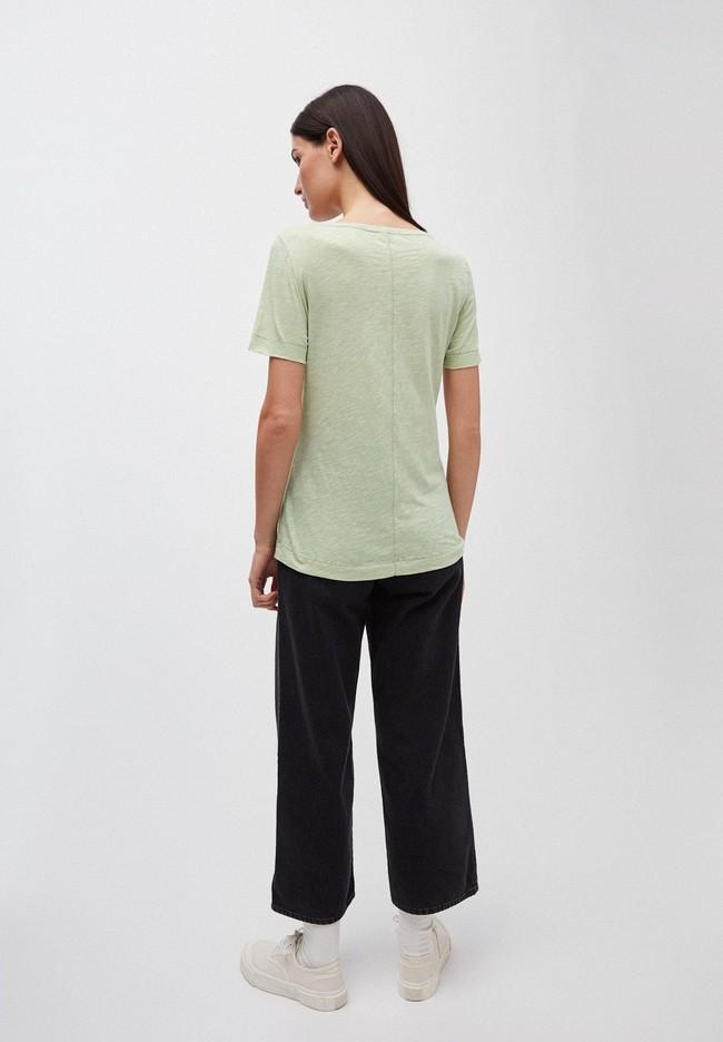 T-shirt vert pâle en coton bio - johannaa - Armedangels num 1