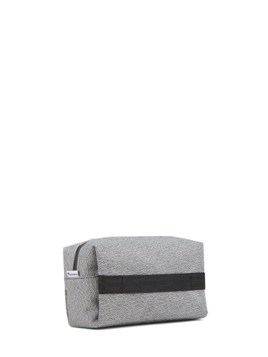 Trousse de toilette grise recyclé - pak vivid monochrome - pinqponq