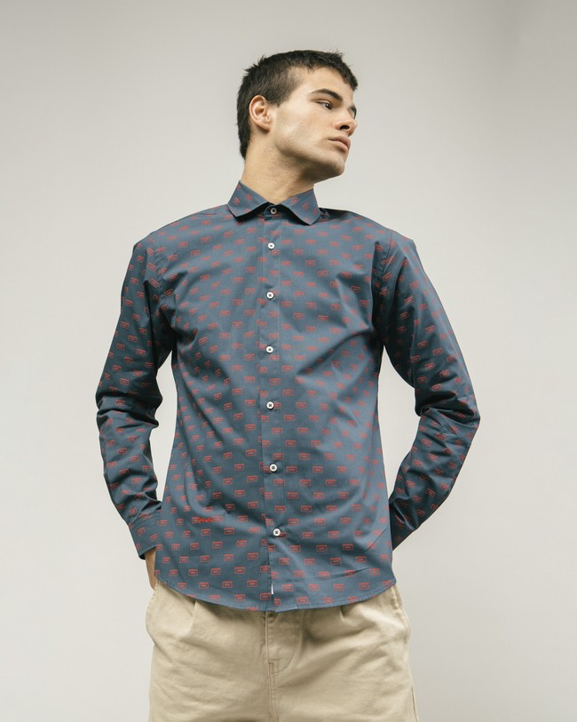 Max mix tape printed shirt - Brava Fabrics