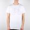 T-shirt blanc en coton bio vélo - Dedicated num 1