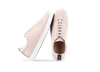Chaussure en gravière cuir nude / semelle blanc - Oth - 2