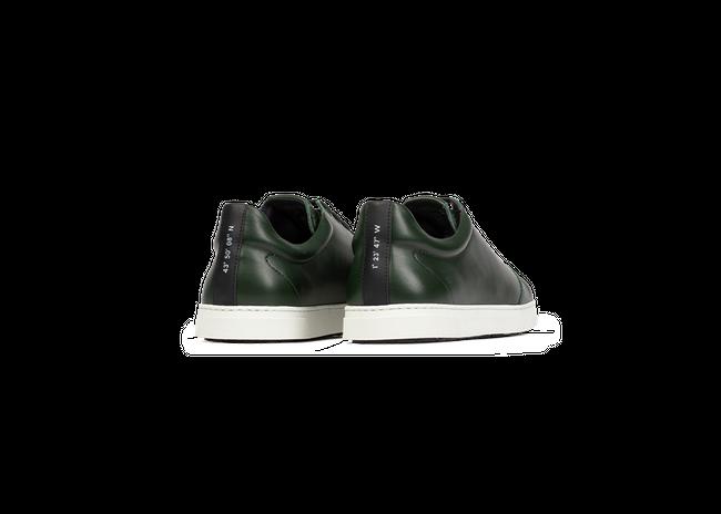 Chaussure en gravière cuir vert sapin - Oth num 2