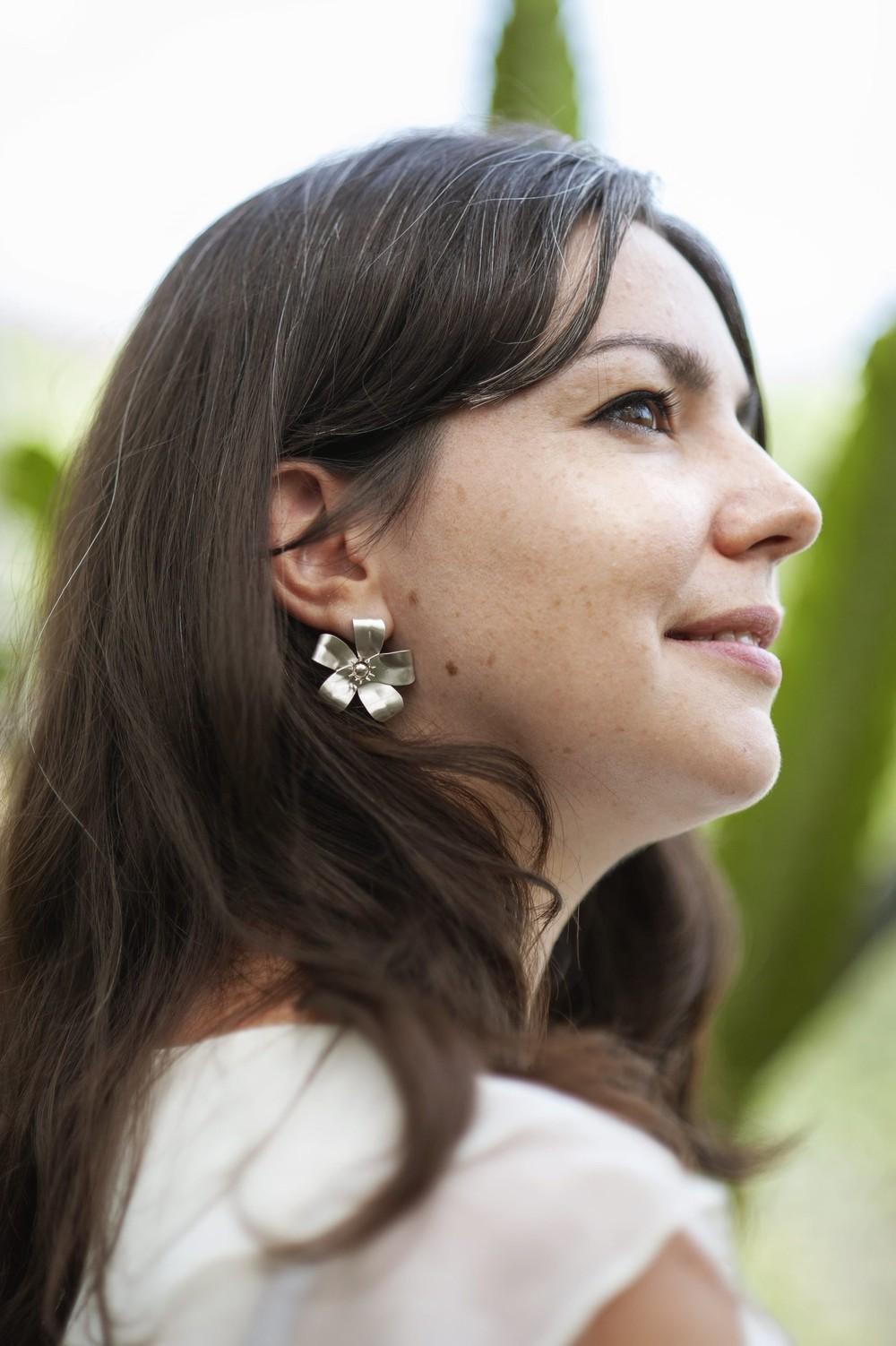Boucles d'oreilles murraya - Elle & Sens