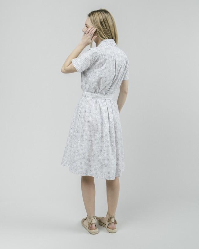 Portuguese tiles shirt dress - Brava Fabrics num 5