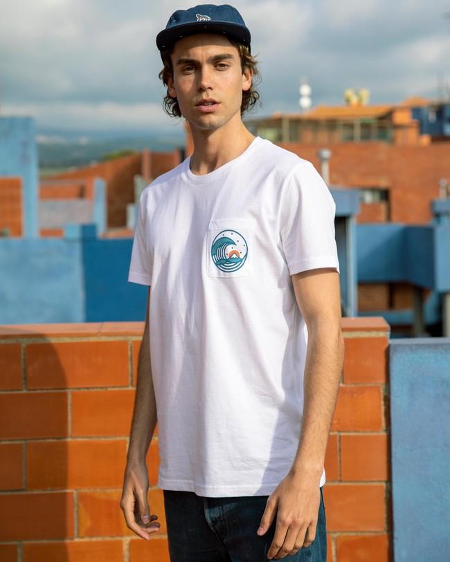 Japanese wave t-shirt - Brava Fabrics num 4