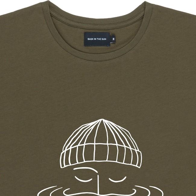 T-shirt en coton bio avocado sailor - Bask in the Sun num 1
