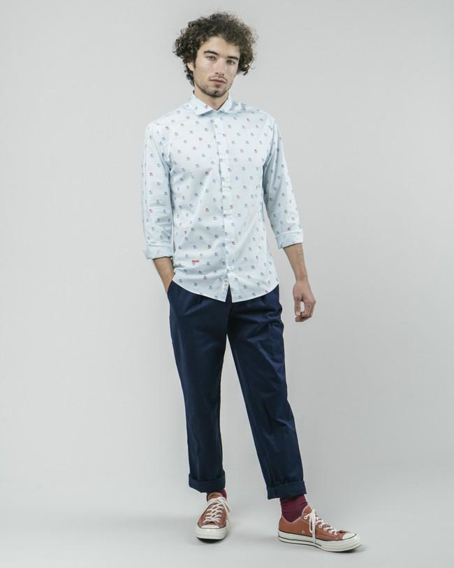 90's diskettes printed shirt - Brava Fabrics num 4