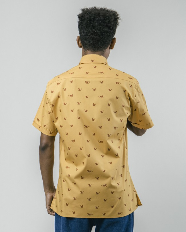 Monkey monkey printed shirt - Brava Fabrics num 6