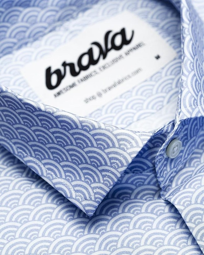 Shibuya printed shirt - Brava Fabrics num 2
