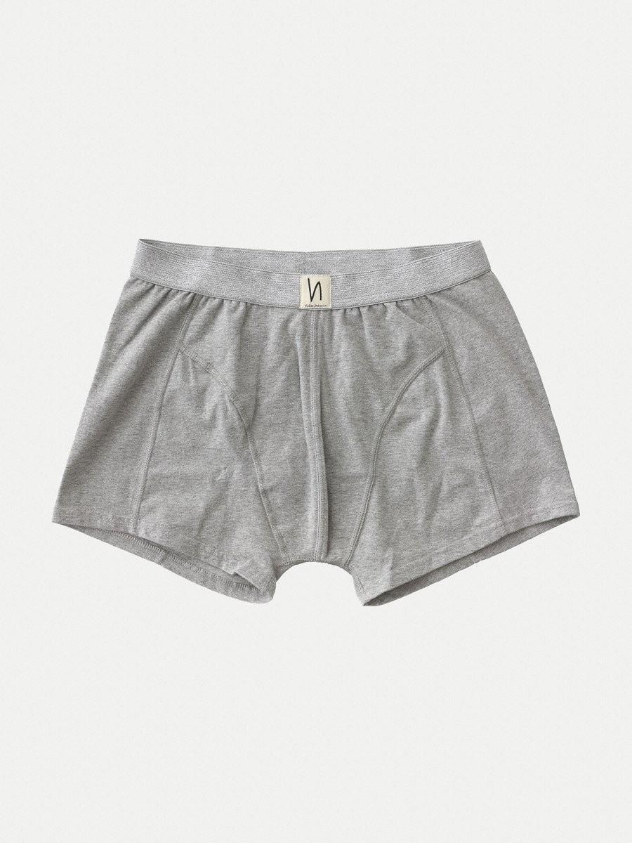 Boxer gris en coton bio - Nudie Jeans