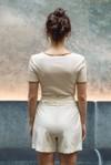 Short tailleur rome ivoire - 17h10 - 3
